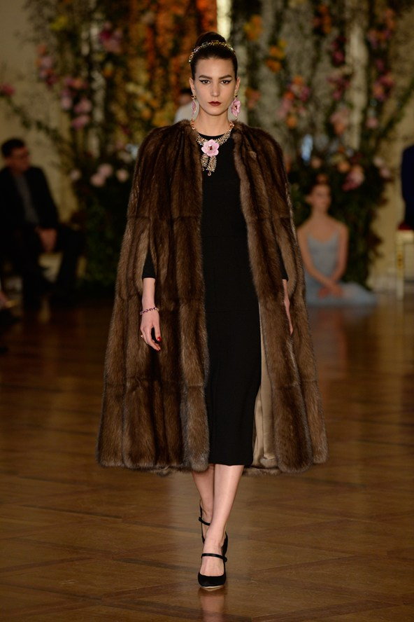 Fur Coat Dolce & Gabanna